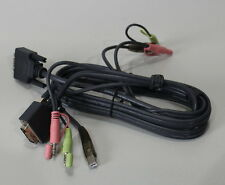 03-26-02831 KVM Kabel 1,5m DVI, Audio, USB