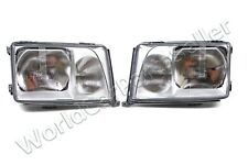 MERCEDES E Class W124 Facelift 1993-1996 Headlights Front Lamps PAIR LH+RH