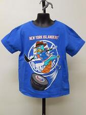 NEW PHINEAS & FERB NEW YORK ISLANDERS KID KIDS MEDIUM M SIZE 5/6 T-SHIRT 67MQ