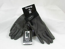 TOGGI MONTEGO PERFORMANCE RIDING GLOVES - XL - GRANITE - EQUESTRIAN - BNWT