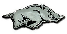 Arkansas Premier Metal Auto Emblem (NEW) Razorbacks Chrome Car Decal Sticker MVP