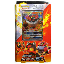 Pokemon Cards Game SUN MOON 60 Cards Incineroar GX deck Starter Set /Korean Ver.