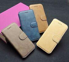 iPhone 6 6s Plus Handy Tasche Etui Flip Case Cover Hülle Zubehör Khaki