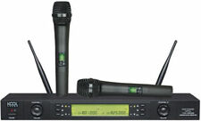 2x100CH UHF Wireless Handheld Microphones Mic System KS-612 A