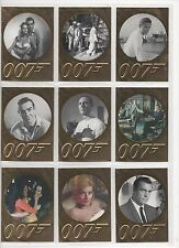 JAMES BOND-50TH ANNIVERSARY SERIES 1 FULL 99 CARD BASE SET