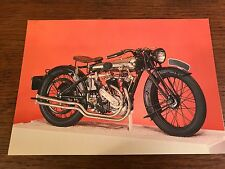 Vintage 1920 750cc Brough Superior National Motorcycle Museum Postcard