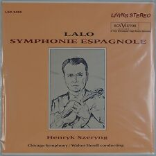 LALO: Symphonie Espangnole RCA LIVING STEREO LSC-2456 180g Classic SEALED LP OOP