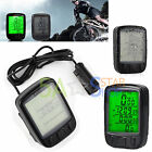 Digital Backlit LCD Bike Computer Odometer Bicycle Cycle Speedometer Speedo ODO