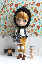 Girlish Vintage Blouse Set for Kenner / Custom Blythe doll - Blythe dress outfit