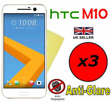 3x HQ MATTE ANTI GLARE SCREEN PROTECTOR COVER FILMS GUARD FOR HTC ONE M10 HTC 10