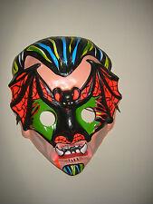 Halloween Bat Vampire mask monster horror vintage