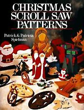 CHRISTMAS SCROLL SAW PATTERNS ~ ORNAMENTS LETTERS ~ PATRICK & PATRICIA SPIELMAN