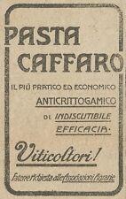 W6412 Pasta Caffaro - Pubblicità 1918 - Advertising