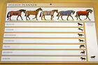 Horses In Rugs - Weekly Planner - Superb Gift