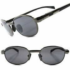 Classic Vintage Retro Old Fashioned Indie Mens Stylish Oval Hipster Sunglasses