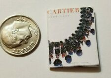 Miniature Dollhouse  Barbie 1/12 Scale Book Jewelry Cartier  Tiffany Faberge D
