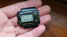 Vintage RARE wristwatch digital LCD CASIO TELEMEMO 50 DB-57W 1225 Japan