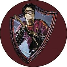 Harry Potter Badge Button Quidditch Gryffindor Broom
