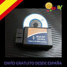 DIAGNOSIS SCANER COCHE MULTIMARCA BLUETOOTH ELM327 OBDII - 2013 V.1.5
