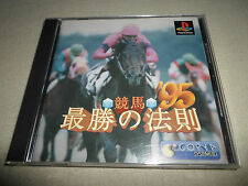 Tested ! Japan Import Keiba Saisho no Housoku 95 Horse Racing PS1 PSX SLPS-00063