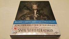 *SPINE CUT* Snow White and the Huntsman STEELBOOK (Blu-ray, UK) Region Free