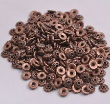 100PCS Tibetan Silver Spacer beads Flowers Bead Caps Findings 6MM CA3081