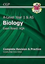New 2015 A-Level Biology: AQA Year 1 & AS Complete Revision & Practice with...