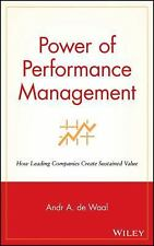 Power of Performance Management: How Leading Companies Create Sustained Value