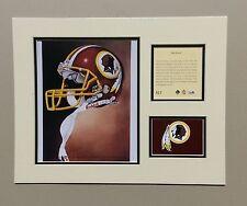 Washington Redskins 1994 Matted Football Helmet Lithograph Print