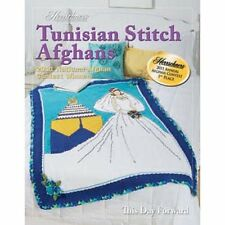 New Herrschners Tunisian Stitch Afghans 2011 Crochet Award Winners Pattern Book