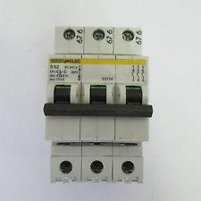 Unelec D32 3-way Circuit breaker