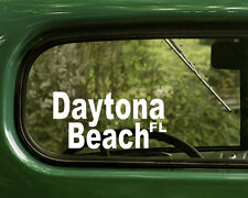 Daytona Beach Florida Decal Sticker (2) for Cars, Truck, Laptop