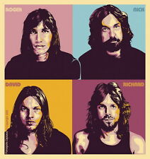"002 Pink Floyd - English Rock Band Music Star 14""x15"" Poster"