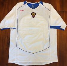 Nike Russia Home National Soccer Jersey Euro 2004 Men's Large #3