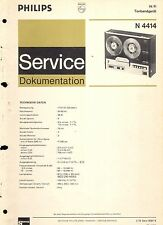 Philips Service Manual für N 4414