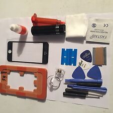 PROFESSIONAL IPHONE 5 5S 5C FRONT GLASS REPAIR KIT Black , ALL YOU NEED
