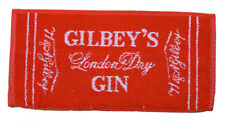 GILBEY'S LONDON DRY GIN Pub Beer BAR TOWEL