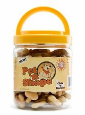 Pet 'n Shape Chik 'n Biscuits Dog Treat 16oz Tub