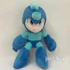 Rockman Rock Mega Man Plush Soft Toy Stuffed Animal Doll Teddy 11""