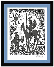 "Pablo Picasso Original Limited Edition Print ""Don Quixote"" Hand Signed w/COA"