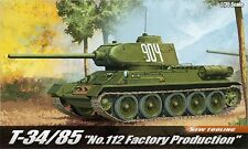 1/35 T-34/85 No.112 Factory Production Academy #13290