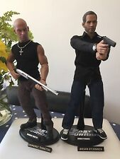 The Fast & Furious Dom Toretto & Brian O'Conner Custom 1:6 Figures Not Hot Toys