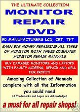 Gran Negocio Monitor Manuales de Reparación Servicio Dvd 2000 Xp Vista Win 7