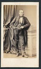 CDV c. 1870 - Homme Accoudé Ph. Durand à Lyon - T252