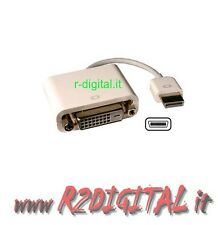 CONVERTITORE CAVO ADATTATORE MINI DVI / DVI 24+1 FEMMINA M/F MONITOR APPLE MAC