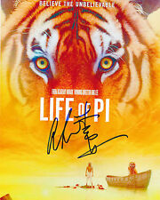 ANG LEE SIGNED LIFE OF PI POSTER 8X10 PHOTO AUTHENTIC AUTOGRAPH COA A