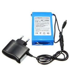 DC 12V 6800mAh Rechargeable Protable Li-ion Battery Pack EU Plug For CCTV Backup