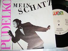 """7"""" - Heiner Pudelko / Mein Schatz & Verrat - PROMO 1989"""