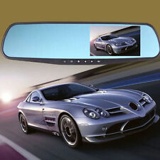 Full HD 1080P Car DVR 4.3 Video Recorder Dash Cam Rearview Mirror Car Camera DVR