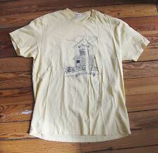 ST. VINCENT let's go someplace nice  -  T-shirt  - light yellow - Large L -music